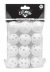 CT27013 White Perforated Balls - Poly Bag