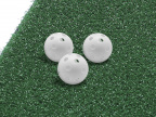 CT27013 White Perforated Balls - on mat (1)